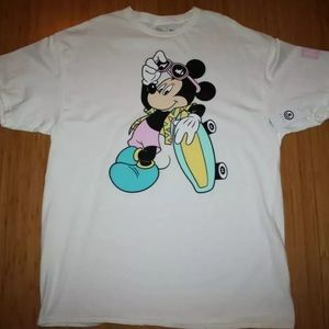 Neff Mickey Mouse Skater Disney T shirt Mens XL